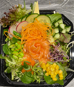 Foto Zalm Pokebowl
